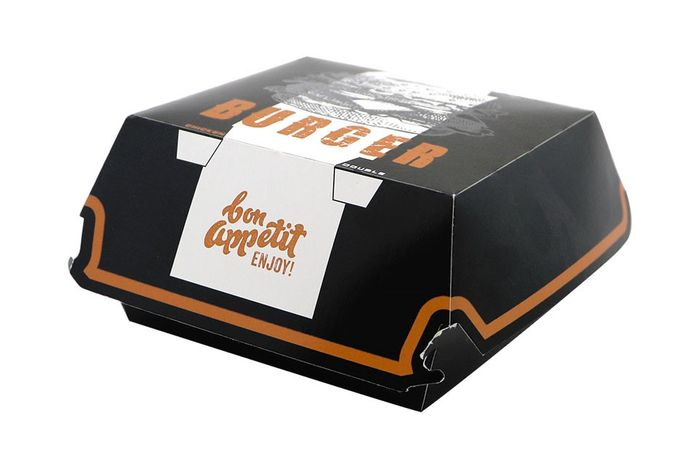 BURGER BOX BLACK PETIT