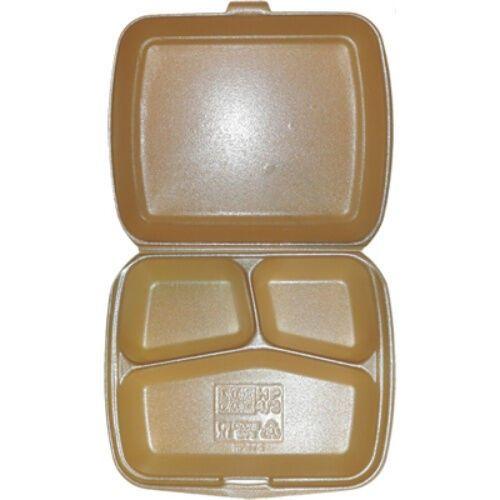 BOX ASSIETTE 3 COMP. X 100 - HP4/3