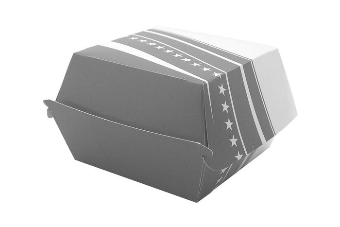 BOX BURGER FOSTER CARTON 501 - 89*89*35 - 500 PIECES - GRIS