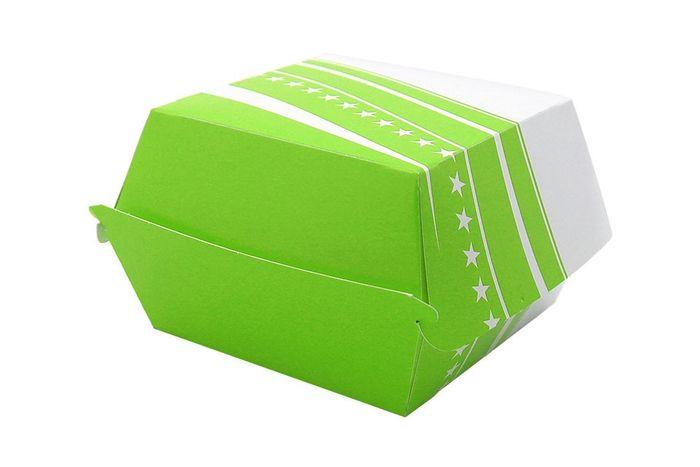 BOX BURGER FOSTER CARTON 505 - 89*89*35 - 500 PIECES - VERT