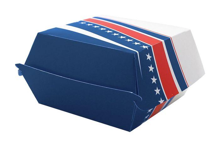 BOX BURGER FOSTER CARTON 506 BIG - 120*120*35 - 500 PIECES