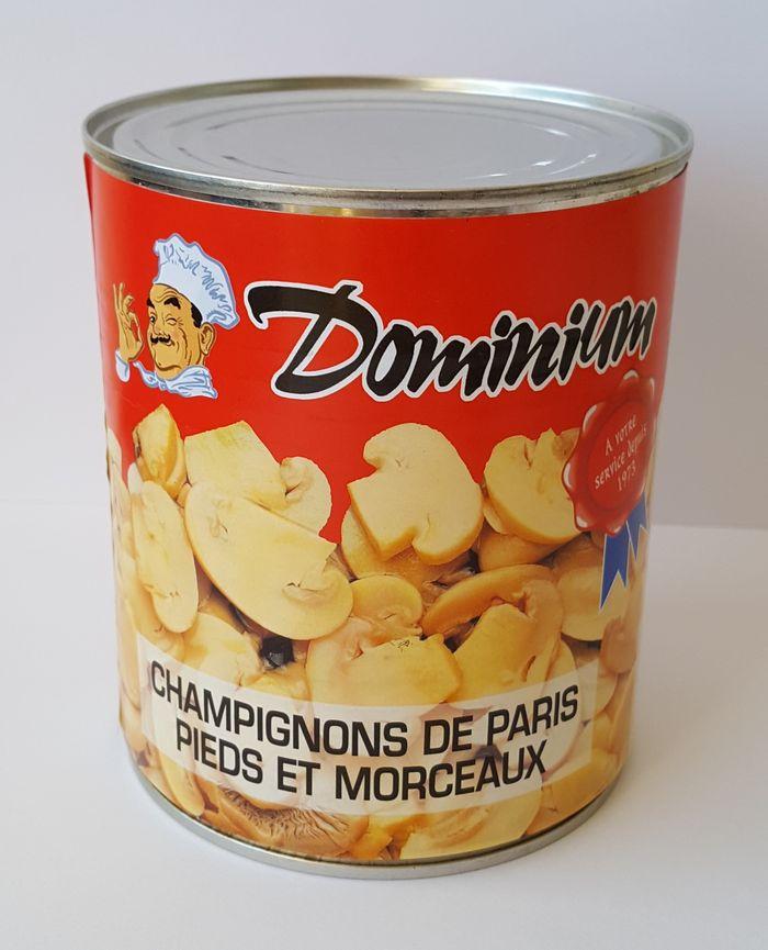 CHAMPIGNONS DE PARIS 800gr