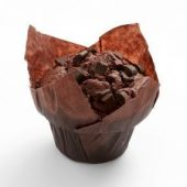 MUFFIN CACAO DECOR MORCEAUX DE CHOCOLAT 95Gr