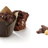 MUFFIN FOURRE TIPLE CHOCOLAT 112gr